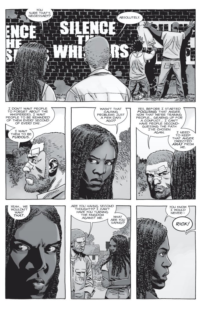 The Walking Dead 152 silence the whispers
