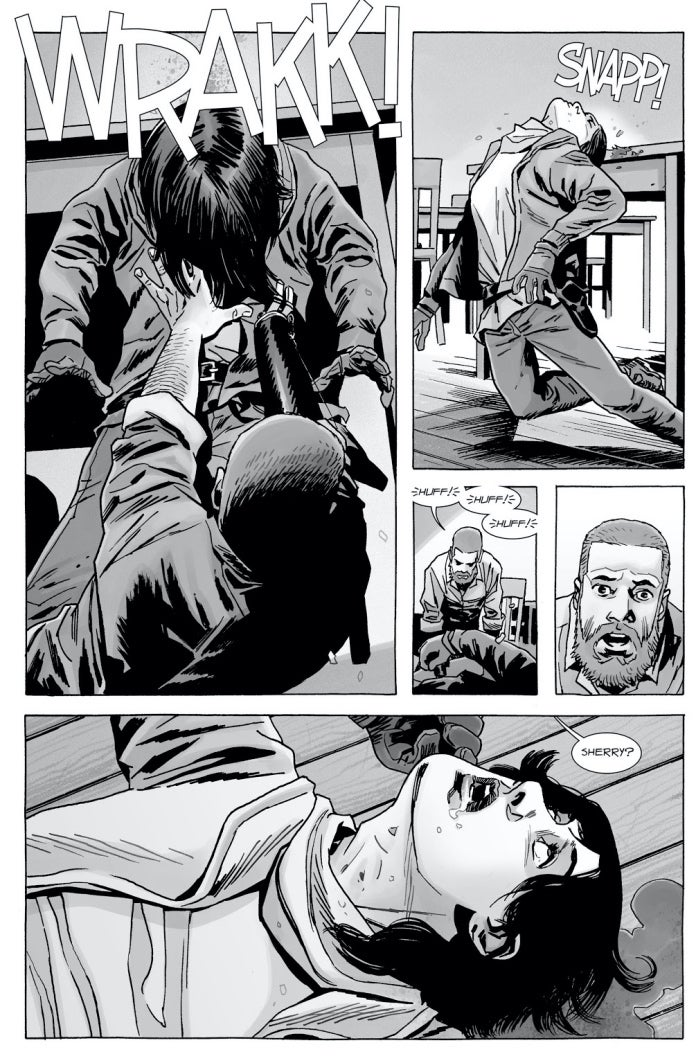 The Walking Dead 166 Rick Sherry dies