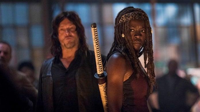 The Walking Dead Danai Gurira Michonne Norman Reedus Daryl