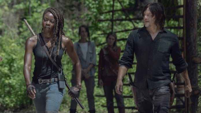 The Walking Dead Danai Gurira Norman Reedus