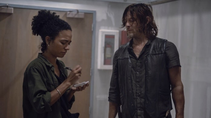 The Walking Dead Daryl Connie
