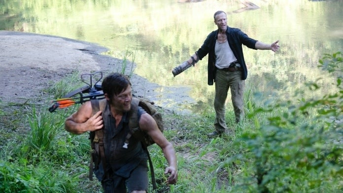 The Walking Dead Daryl Merle Dixon Norman Reedus Michael Rooker