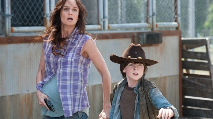 The Walking Dead Lori Carl Grimes