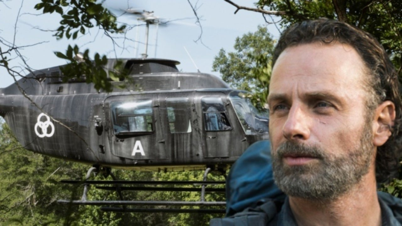 The Walking Dead Reveals Meaning of Three-Circle Symbol on Rick Grimes' Helicopter