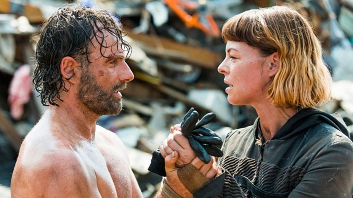 The Walking Dead Rick Jadis Andrew Lincoln Pollyanna McIntosh