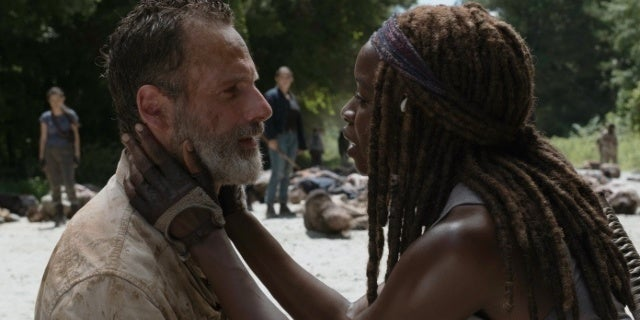 Michonne Could Reunite with Rick Grimes in The Walking Dead Movies