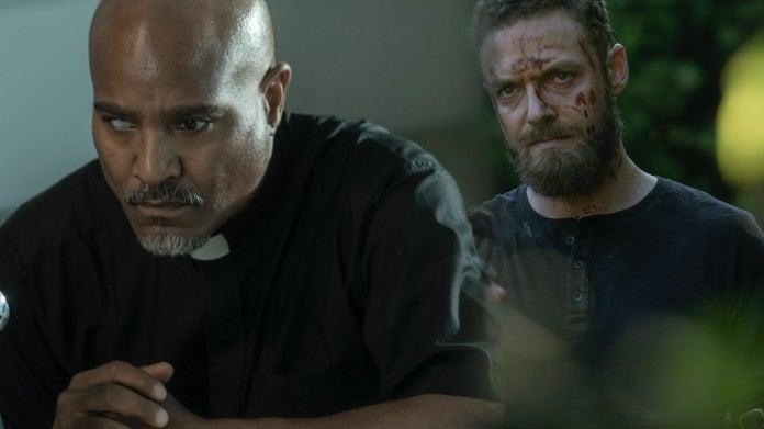 The Walking Dead season 10 Aaron Father Gabriel