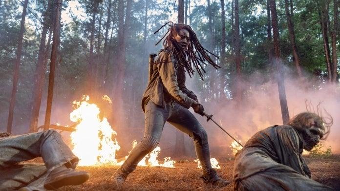 The Walking Dead Season 10 Danai Gurira Michonne