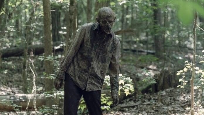 The Walking Dead season 10 walker
