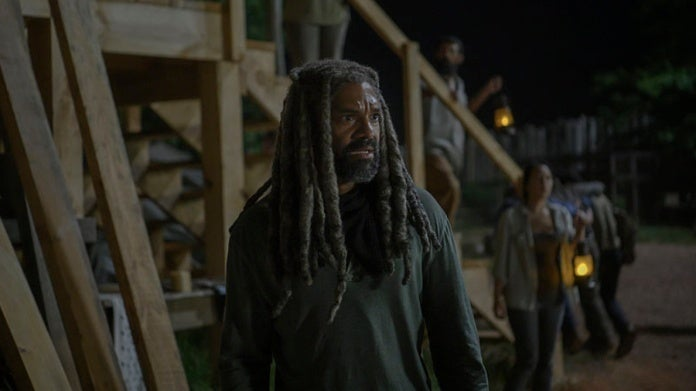 The Walking Dead Silence the Whisperers King Ezekiel Khary Payton