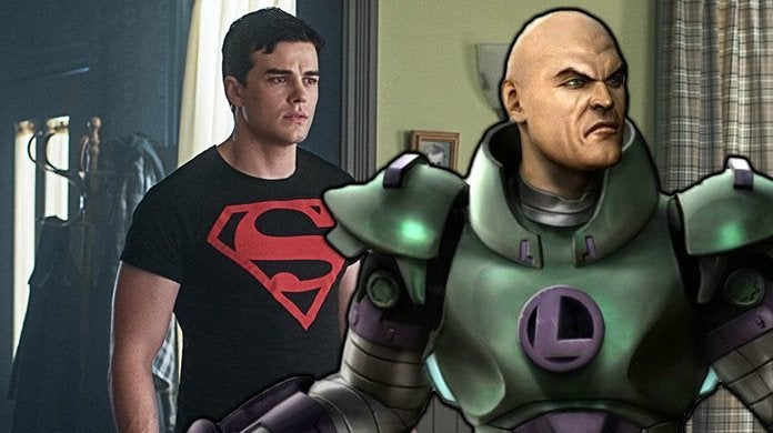 titans superboy lex luthor