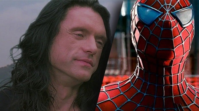 tommy wiseau spider man