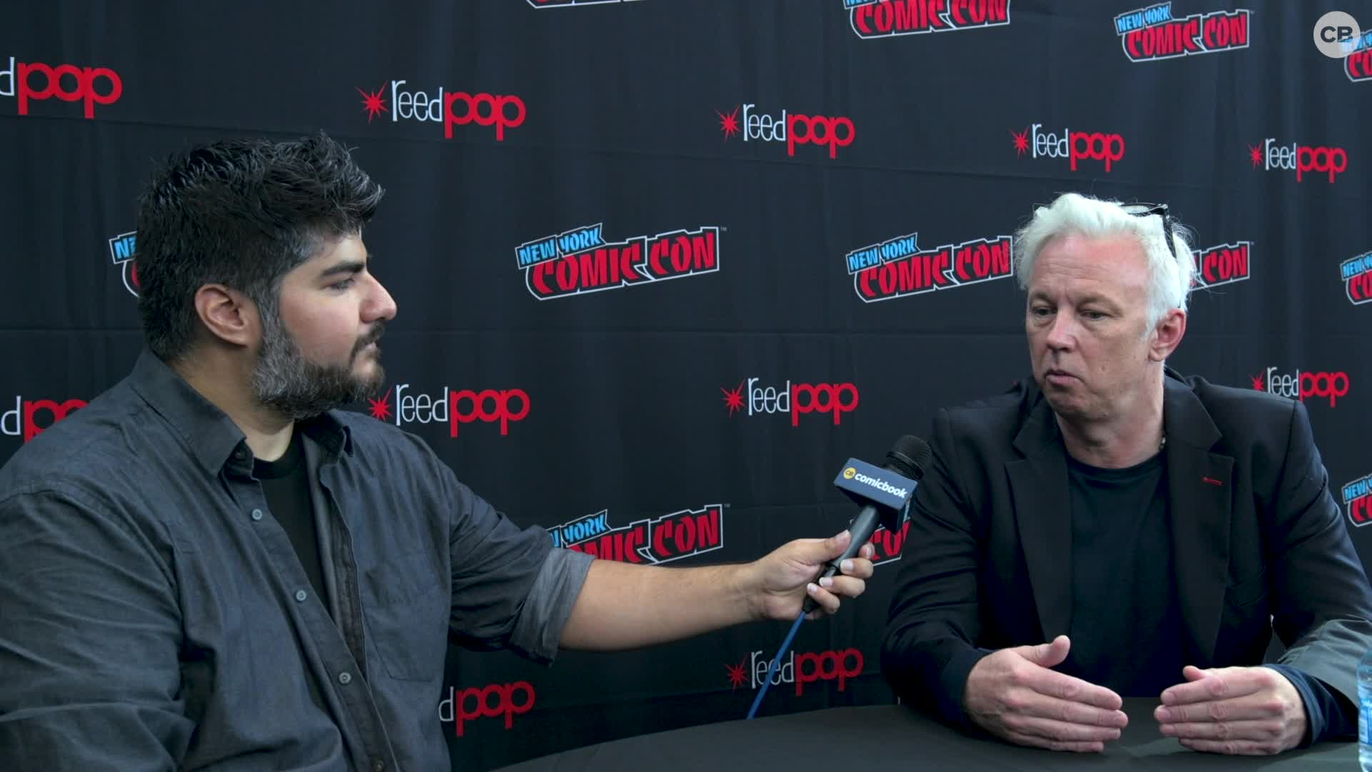 Tony Basgallop - NYCC 2019 Exclusive Interview screen capture