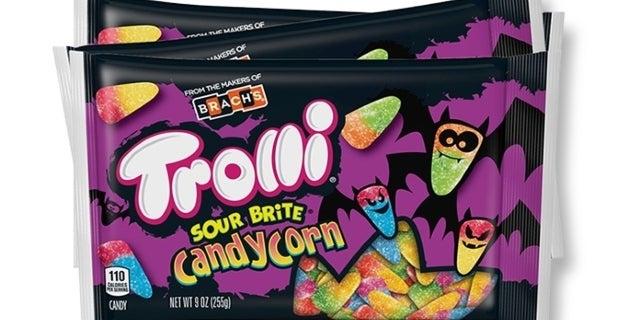 trolli sour candy corn