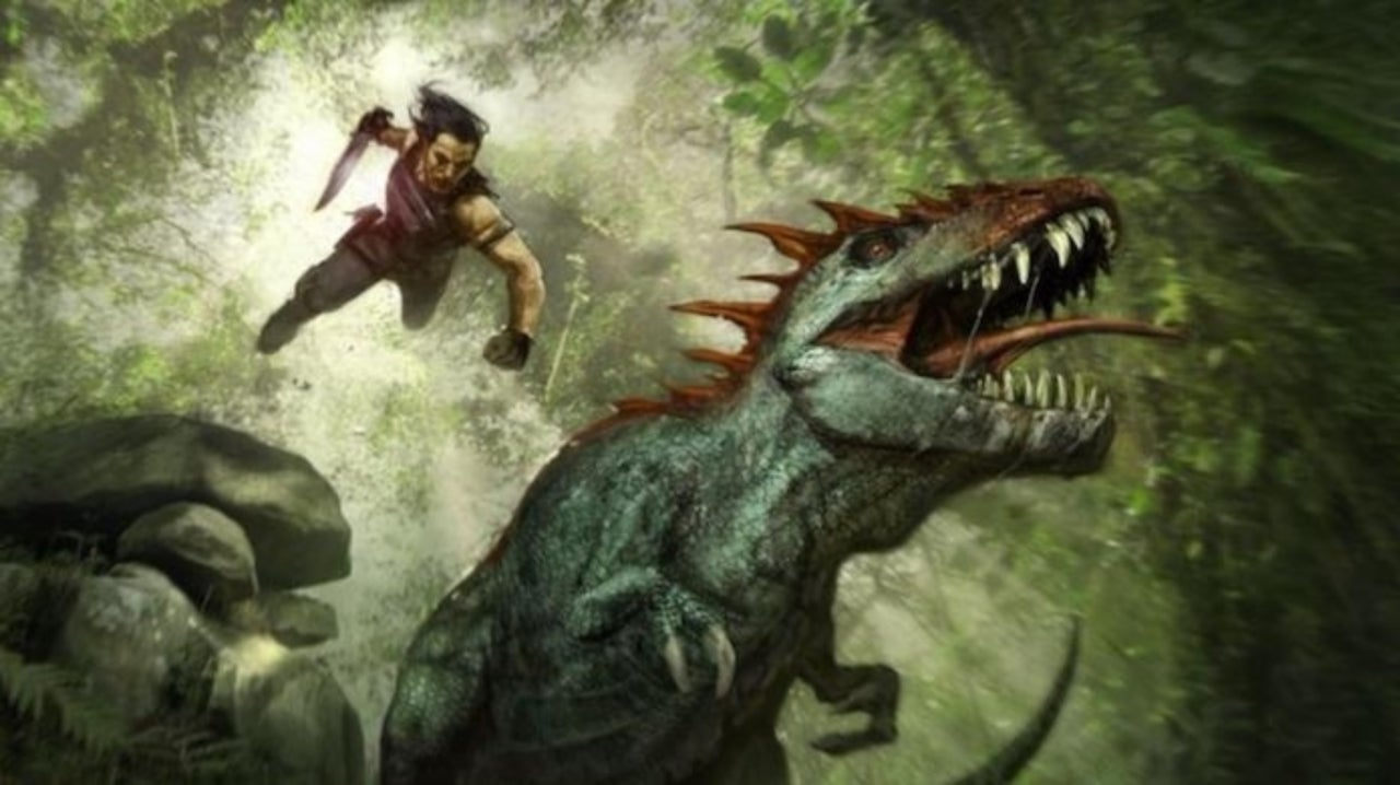 Concept Art of Cancelled Turok Movie Revealed