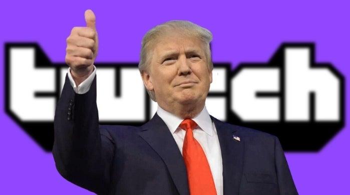 twitch trump
