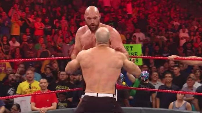 Tyson-Fury-Cesaro-WWE-Raw