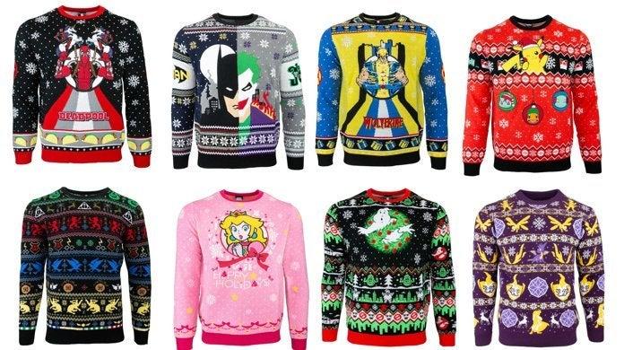 Pokemon Christmas Sweater.More Marvel Dc Harry Potter Pokemon And Nintendo Ugly