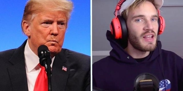 PewDiePie Reveals Why He Doesn't Talk About Trump or Politics