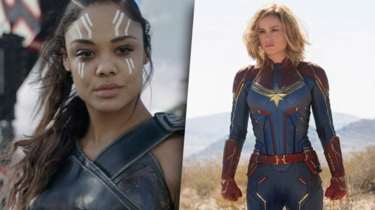 Tessa Thompson and Brie Larson Go Viral for Comments About Lesbians