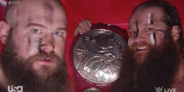 WWE Raw: The Viking Raiders Mention Ring of Honor and New Japan After Capturing the Raw Tag Titles