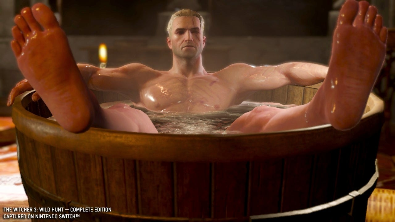 witcher 3 bathtub