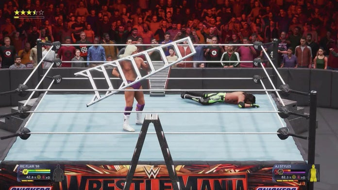 WWE-2K20-Gameplay-Ric-Flair-AJ-Styles-1