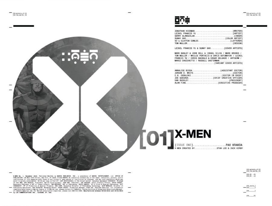 X-Men 1 Page 2