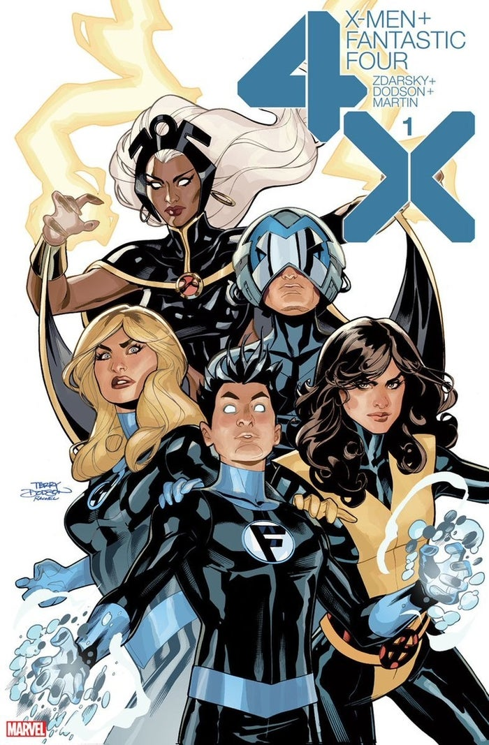 X-Men Fantastic Four 1 Cover (2020)