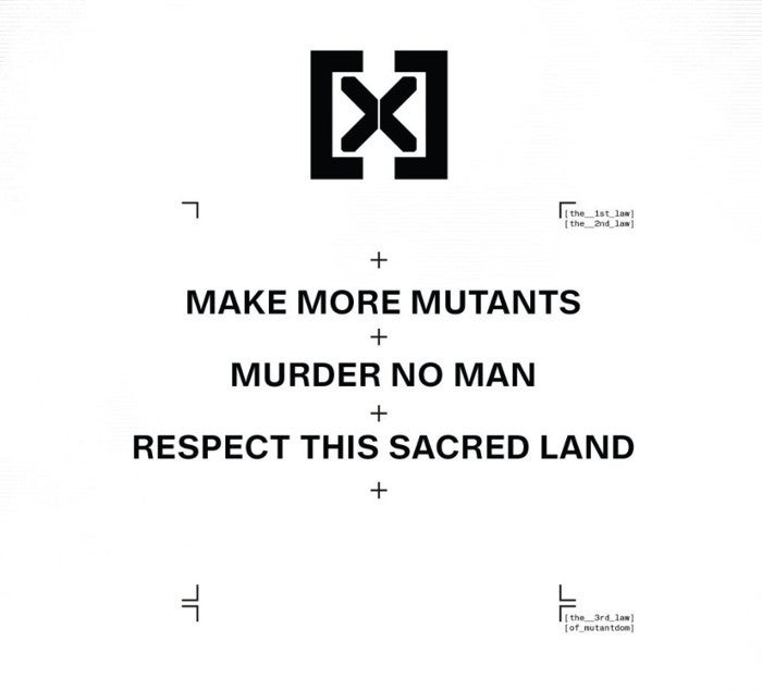 X-Men House X 3 Mutant Laws Krakoa