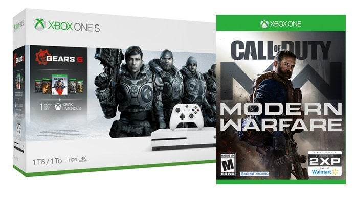 Xbox One S With Call of Duty Modern Warfare and a Bonus