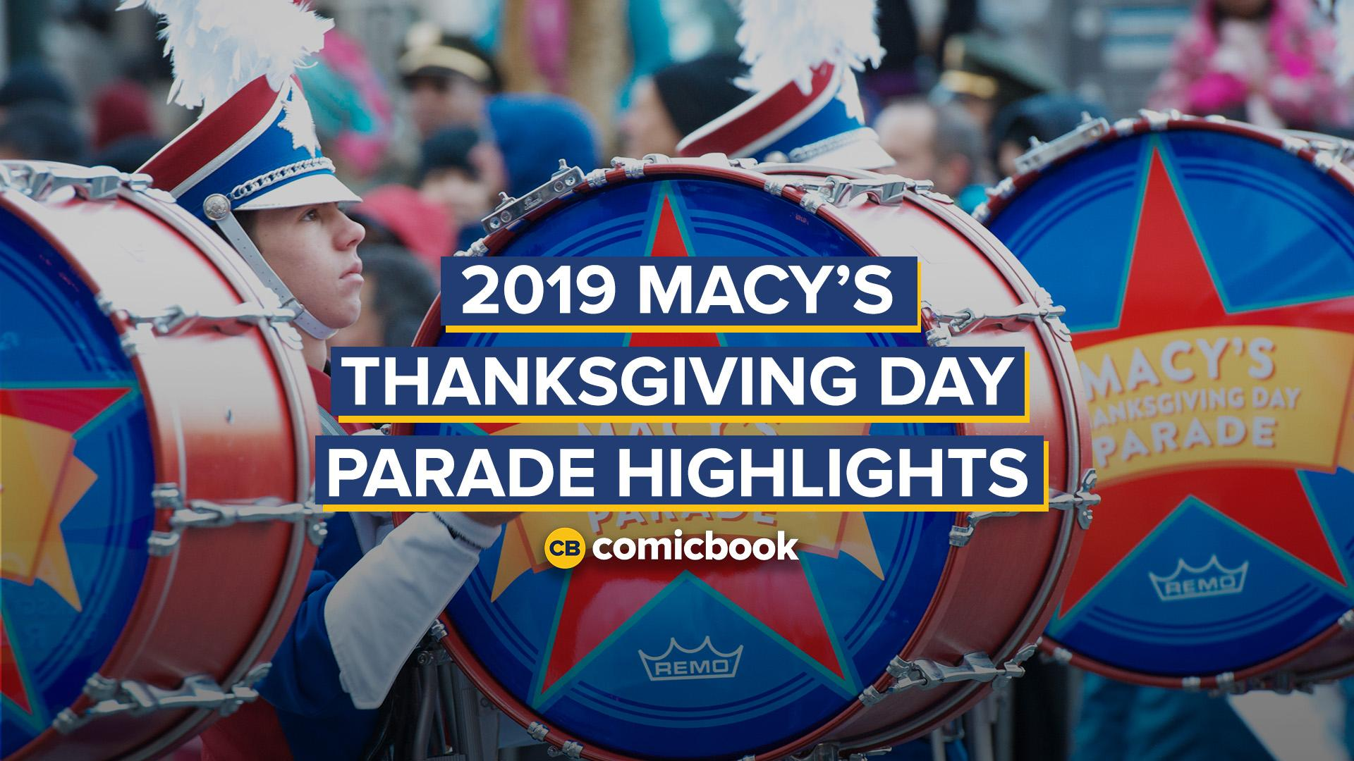 2019 Macy's Thanksgiving Day Parade Highlights screen capture