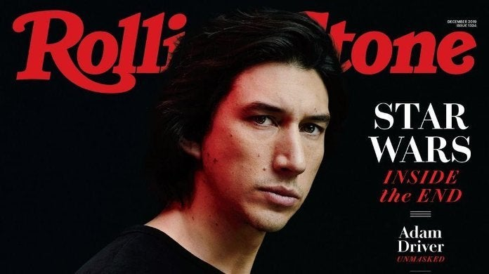 Adam Driver Rolling Stone Star Wars The Rise of Skywalker