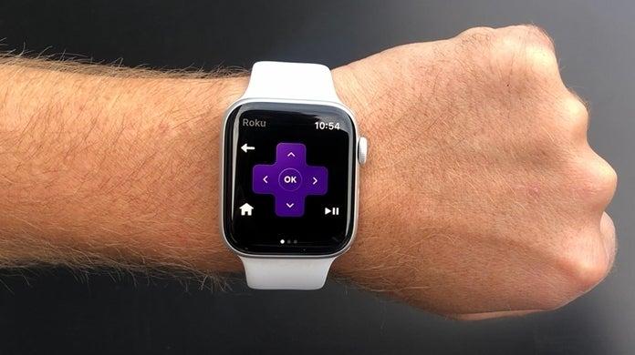 apple watch roku remote