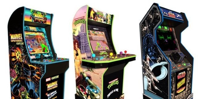 TMNT, Star Wars, and Marvel Arcade1Up Cabinets Are Available Now