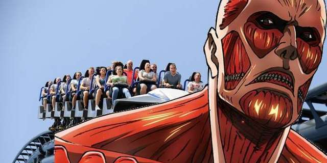 Universal Studios to Launch AOT Roller Coaster, More