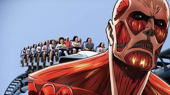 Attack On Titan Coaster