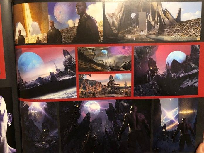 Avengers Endgame Artwork Thanos Family Titan