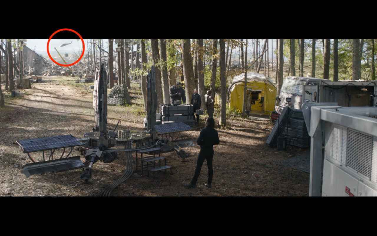 Mystery Helicopter Spotted in Avengers: Endgame
