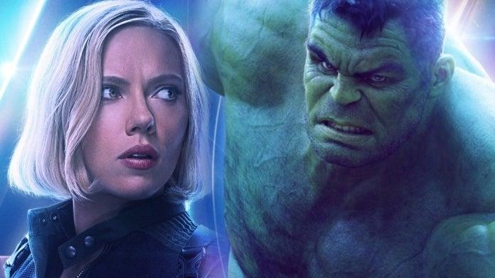 Avengers Infinity War Black Widow Hulk