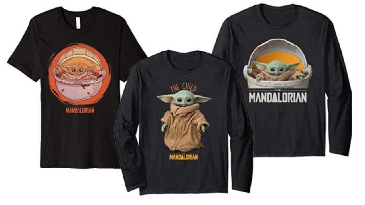 The First Baby Yoda The Child Merch Hits Amazon