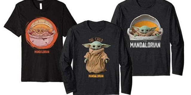 "The First Baby Yoda ""The Child"" Merch Hits Amazon"