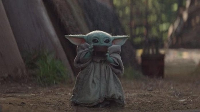baby yoda the mandalorian soup