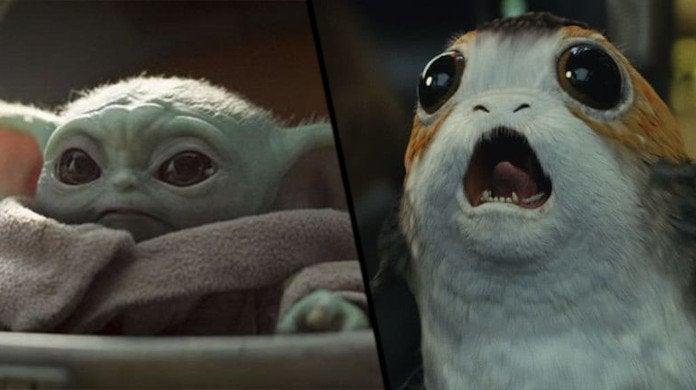 Baby Yoda vs Porgs