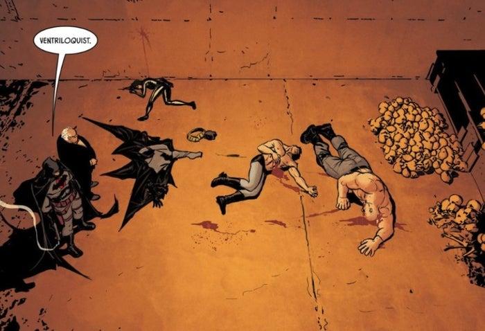 Batman 82 Thomas Wayne Kills Shoots Kills Bane (2019)