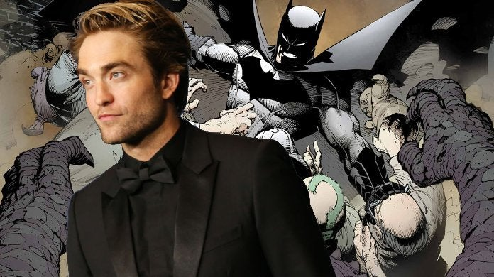 Batman Robert Pattinson Training