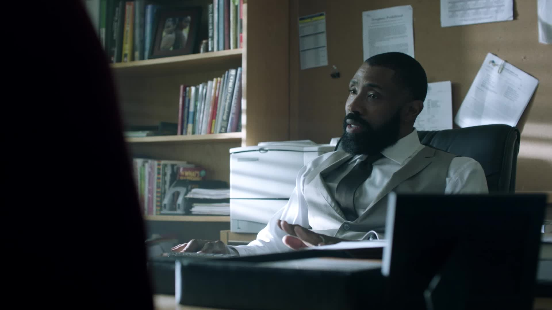 Black Lightning: Tavon's Parents screen capture