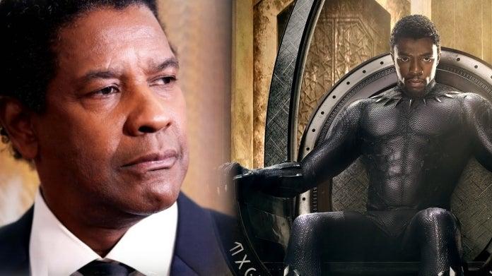 Black Panther Chadwick Boseman Denzel Washington