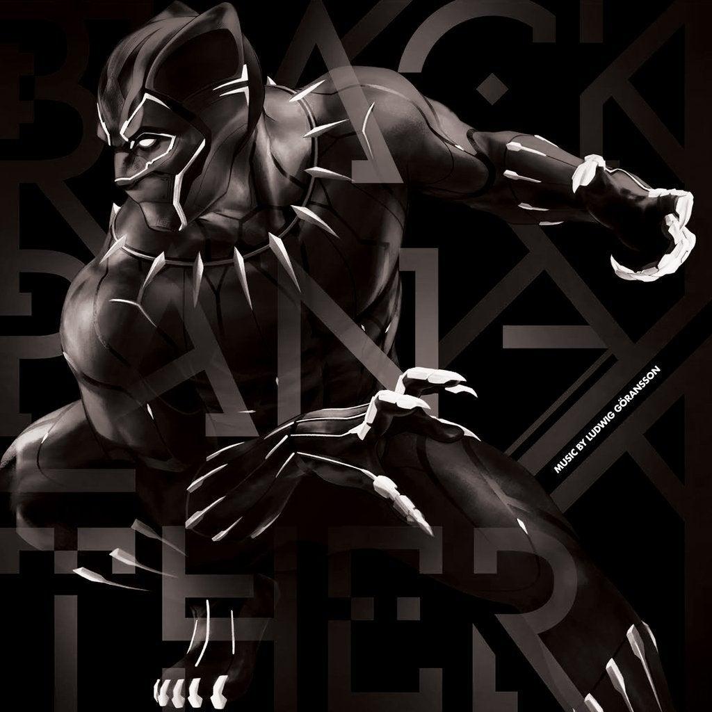 black panther soundtrack record vinyl mondo