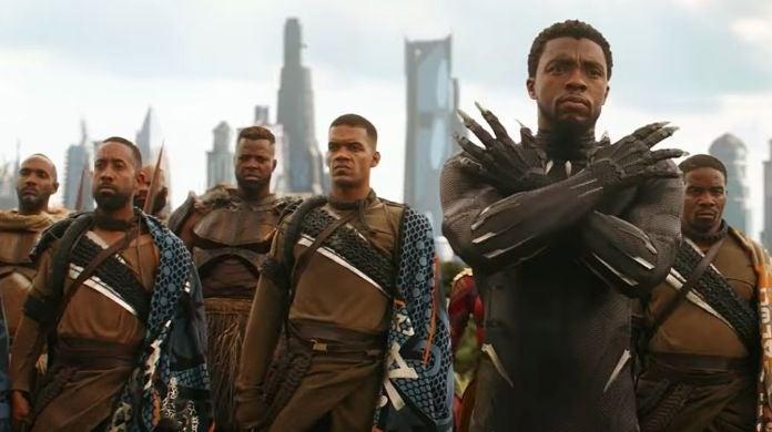 Black Panther Wakanda Alternate Armor in infinity War Endgame